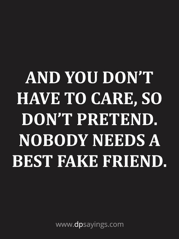 fake friends quotes 80