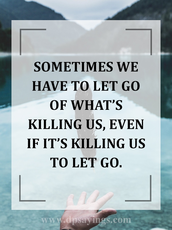 let go past and move on