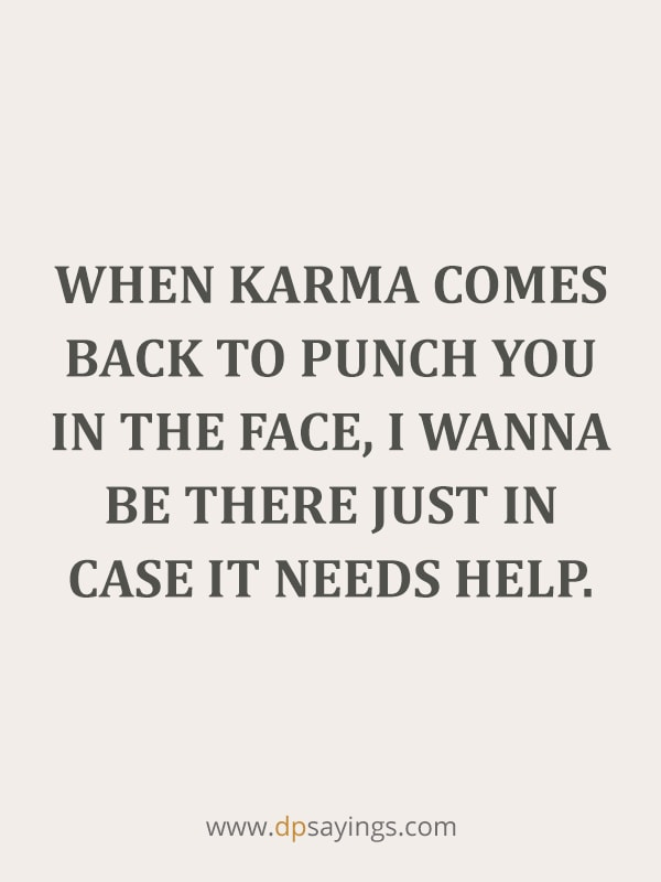 14 karma revenge quotes and sayings on cheaters