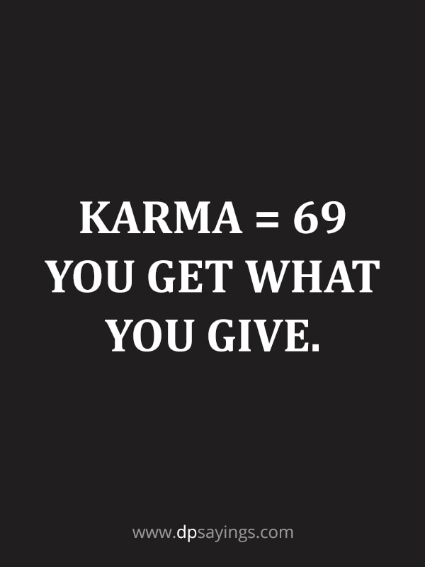 3 karma quotes and sayings