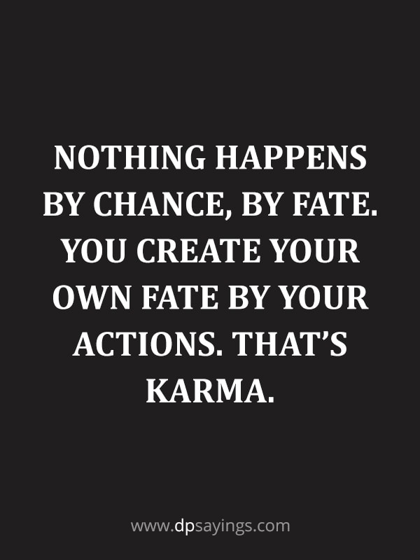 9 popular karma quotes and sayings