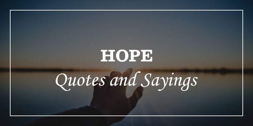 Featured Image for inspirational hope quotes and sayings