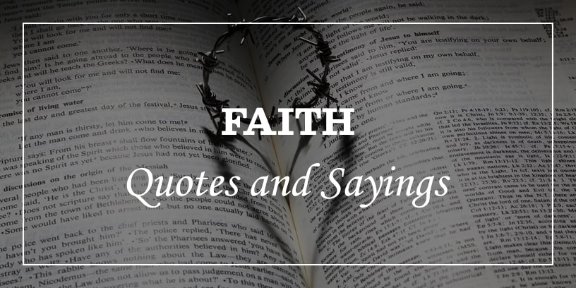 Featured image for faith quotes and sayings