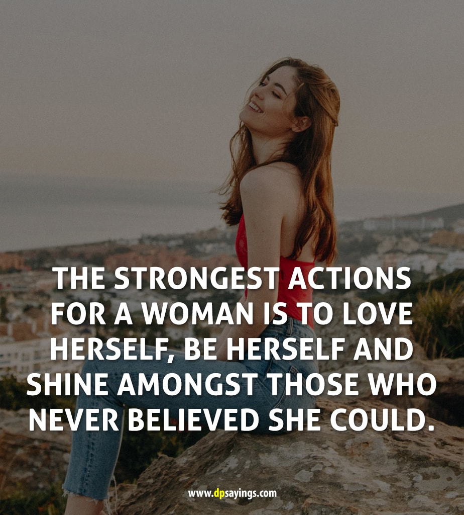 50 Inspirational Strong Woman Quotes Will Make You Strong - DP Sayings