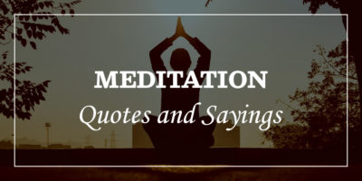Featured Image for meditation quotes and sayings
