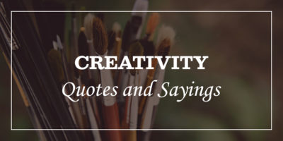 Featured Image for creativity quotes and sayings