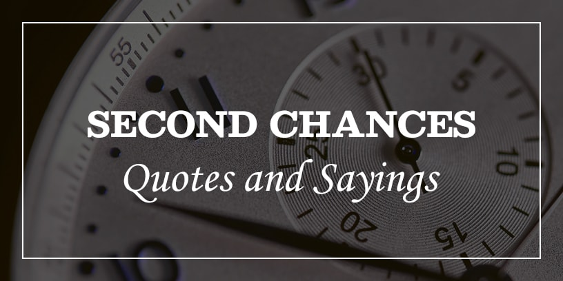 Featured Image for second chances