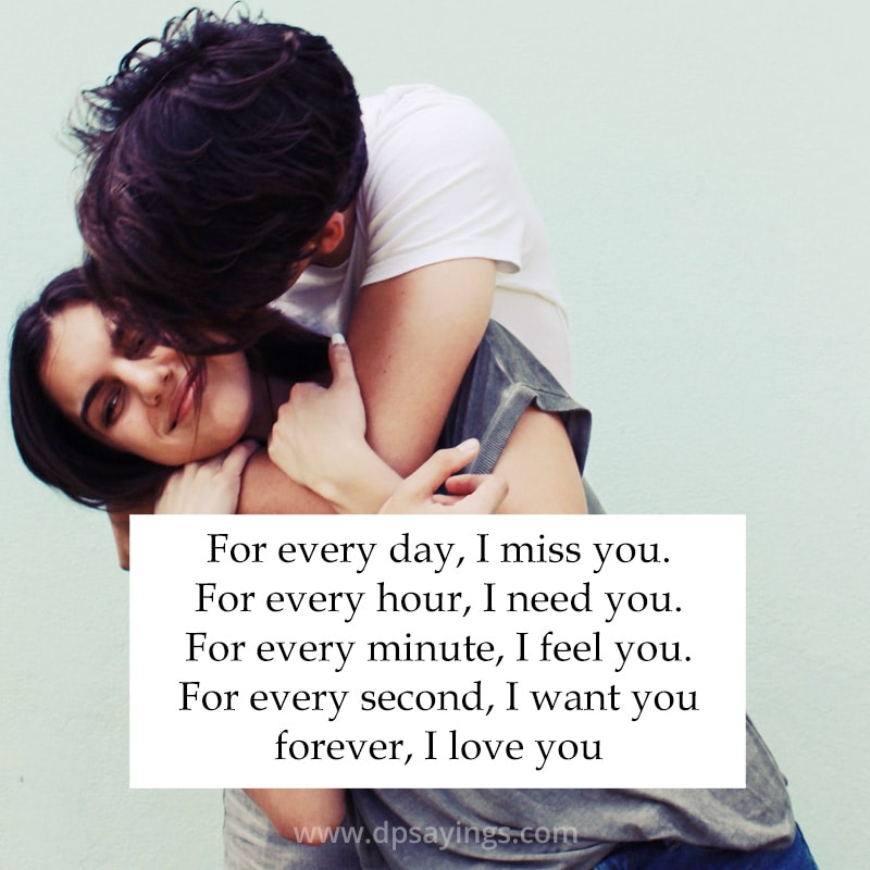 I miss you and i love you quotes