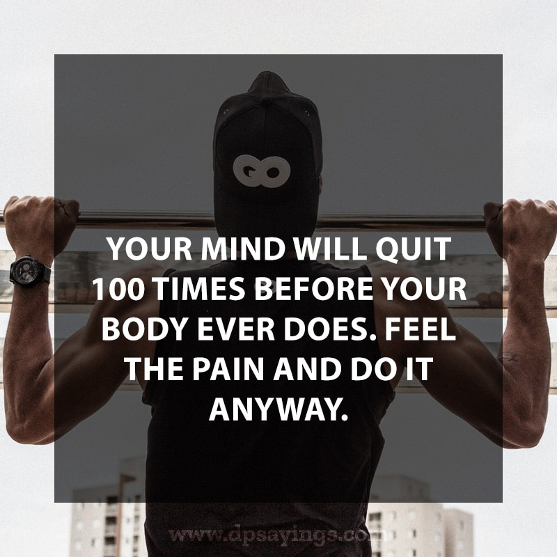 Workout quotes which makes you inspire