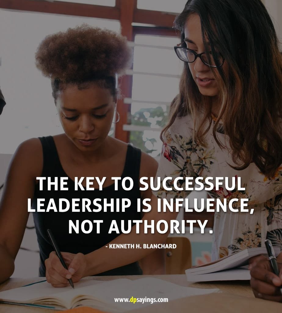 A quote on leadership