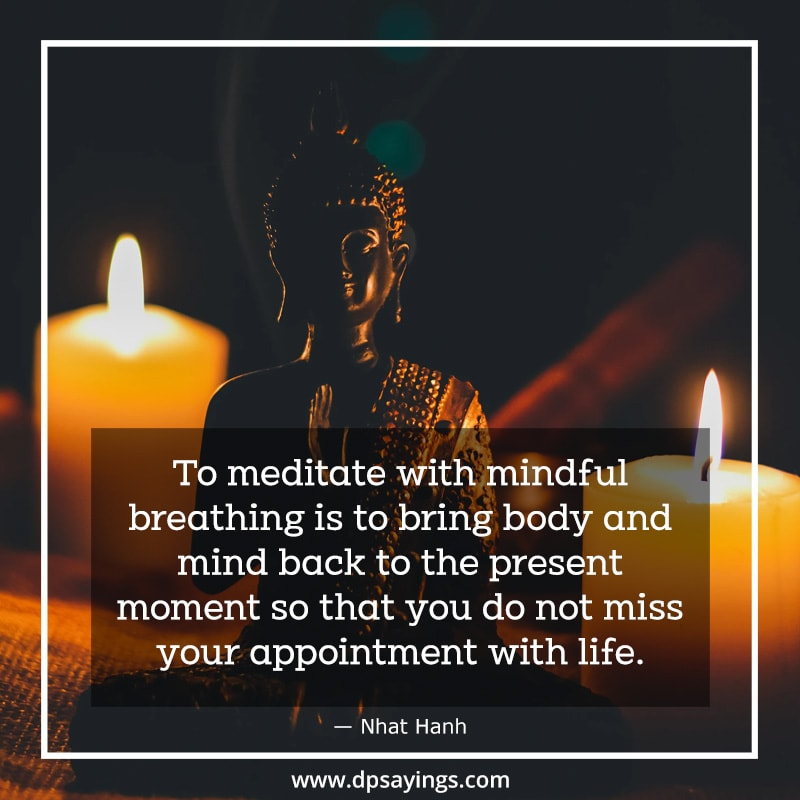 A Quote on Meditation, To inspire and motivate people to do meditation.