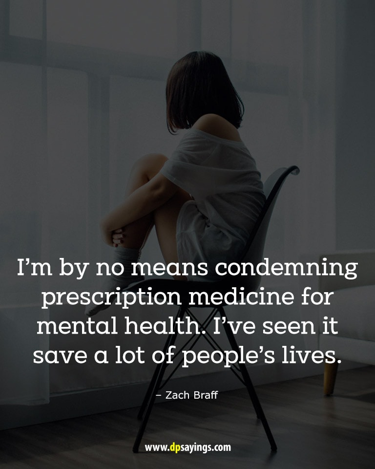 A quote on mental health