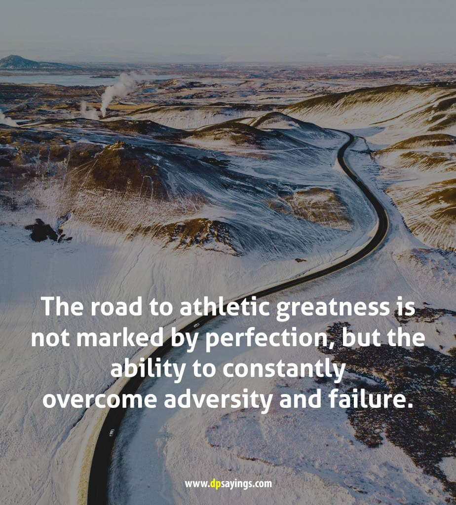 Constantly overcome adversity quotes