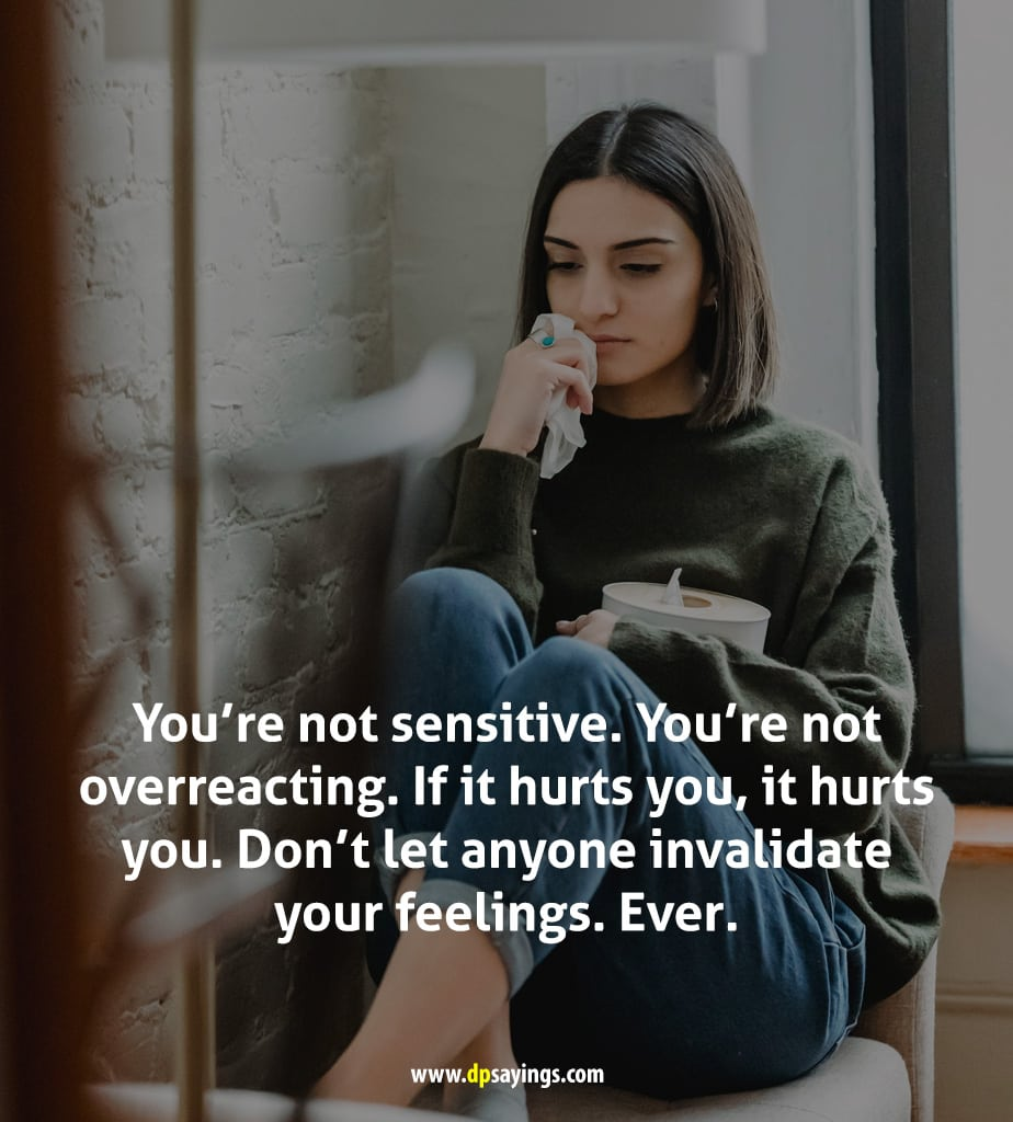 being sensitive quotes 10