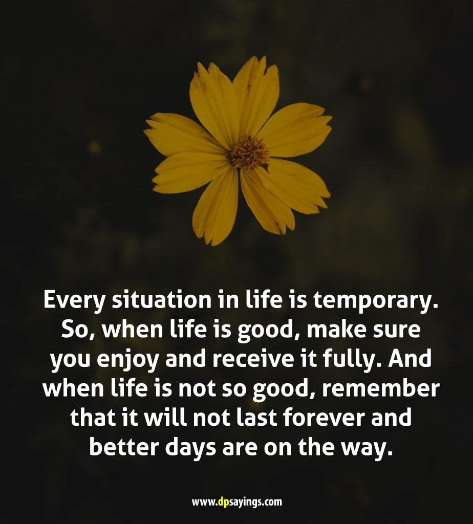 better days are one way quotes
