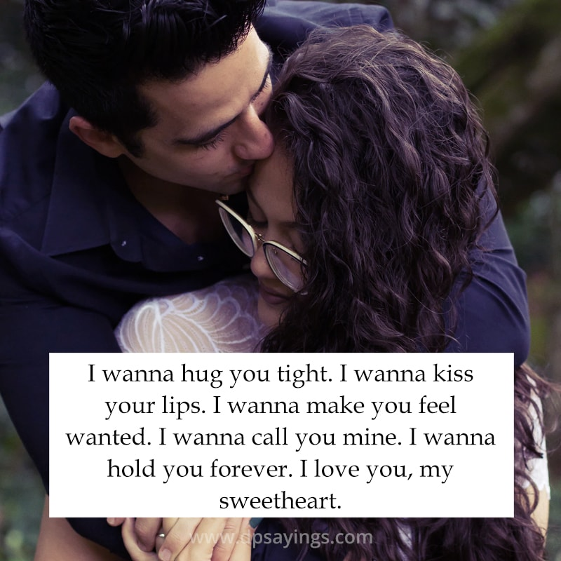 Tight me why hug my boyfriend does so What Does
