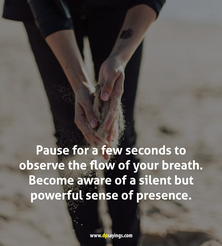 quotes on just breathe