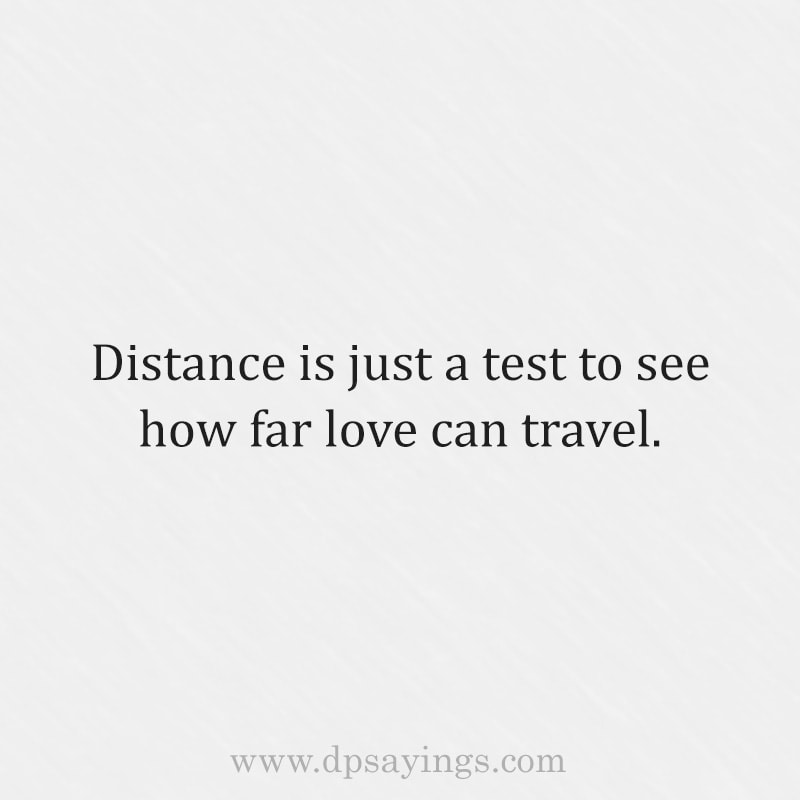 long distance relationship quote and sayings for him and her