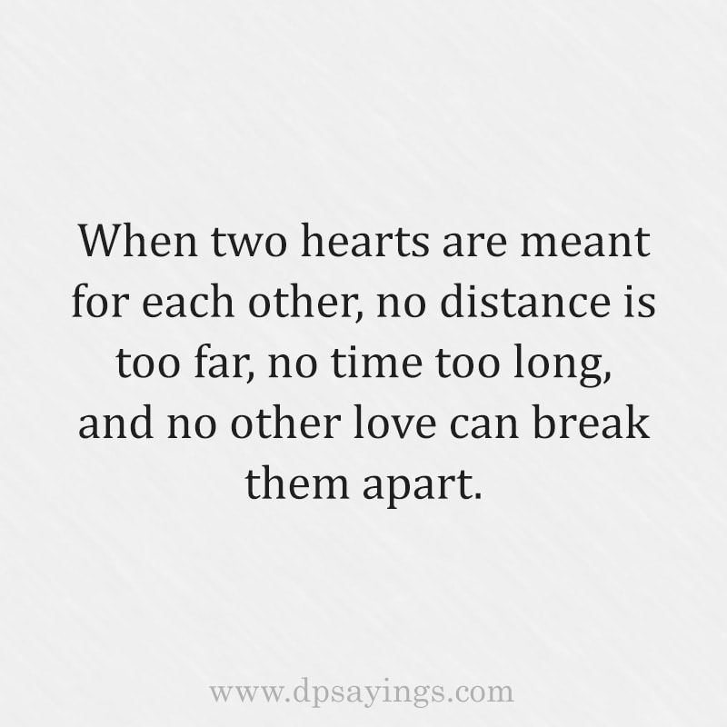 about long distance relationship quotes