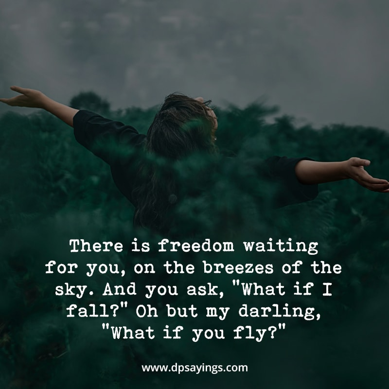 """Mindfulness quotes """"There is freedom waiting for you..."""""""