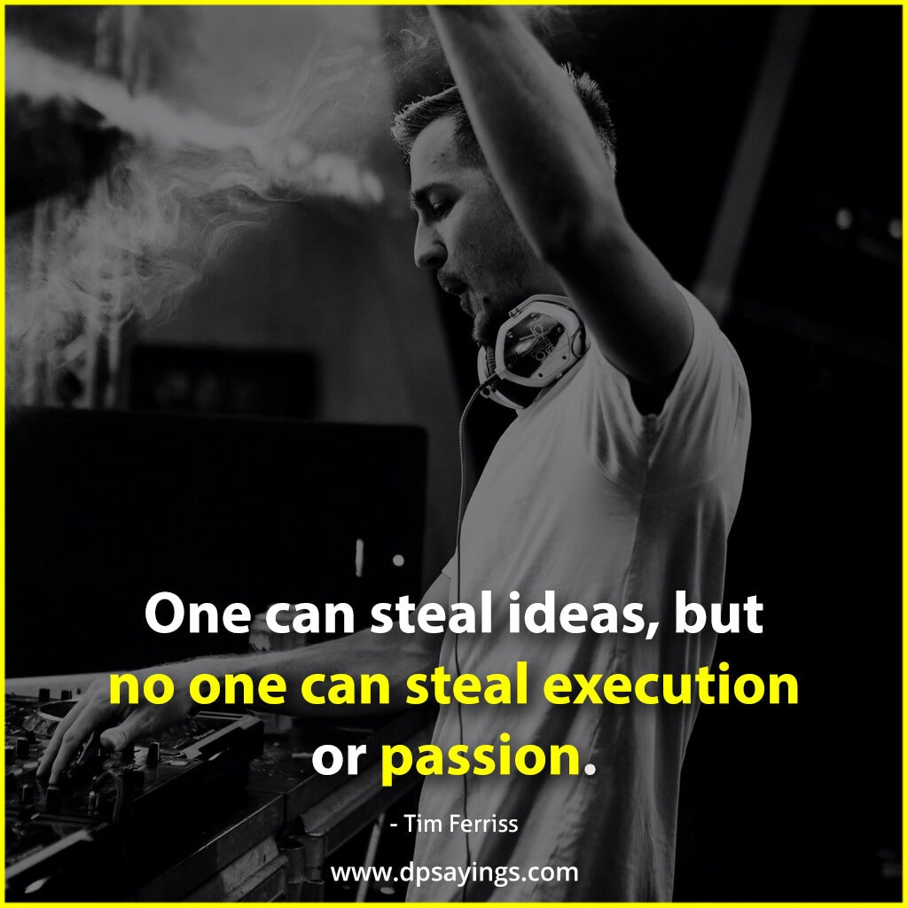 no one can steal passion
