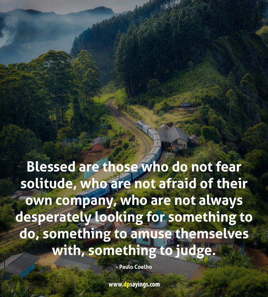 quotes about solitude.