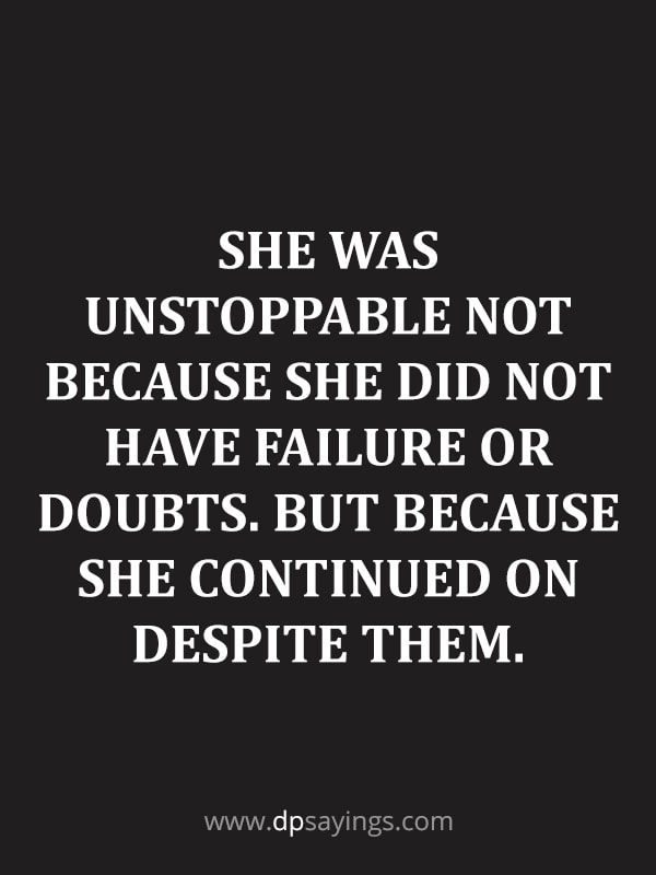 Inspirational self doubt quotes