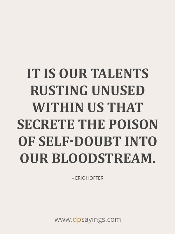 self doubt quotes