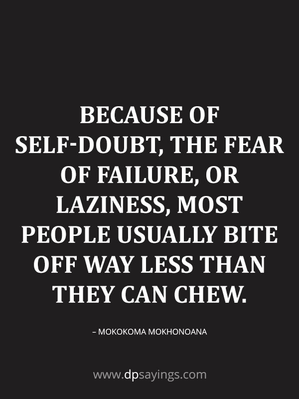 quotes on overcoming self doubt quotes
