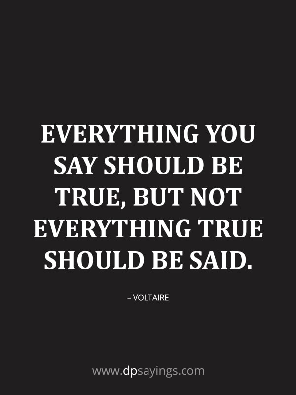 think twice before you think quotes