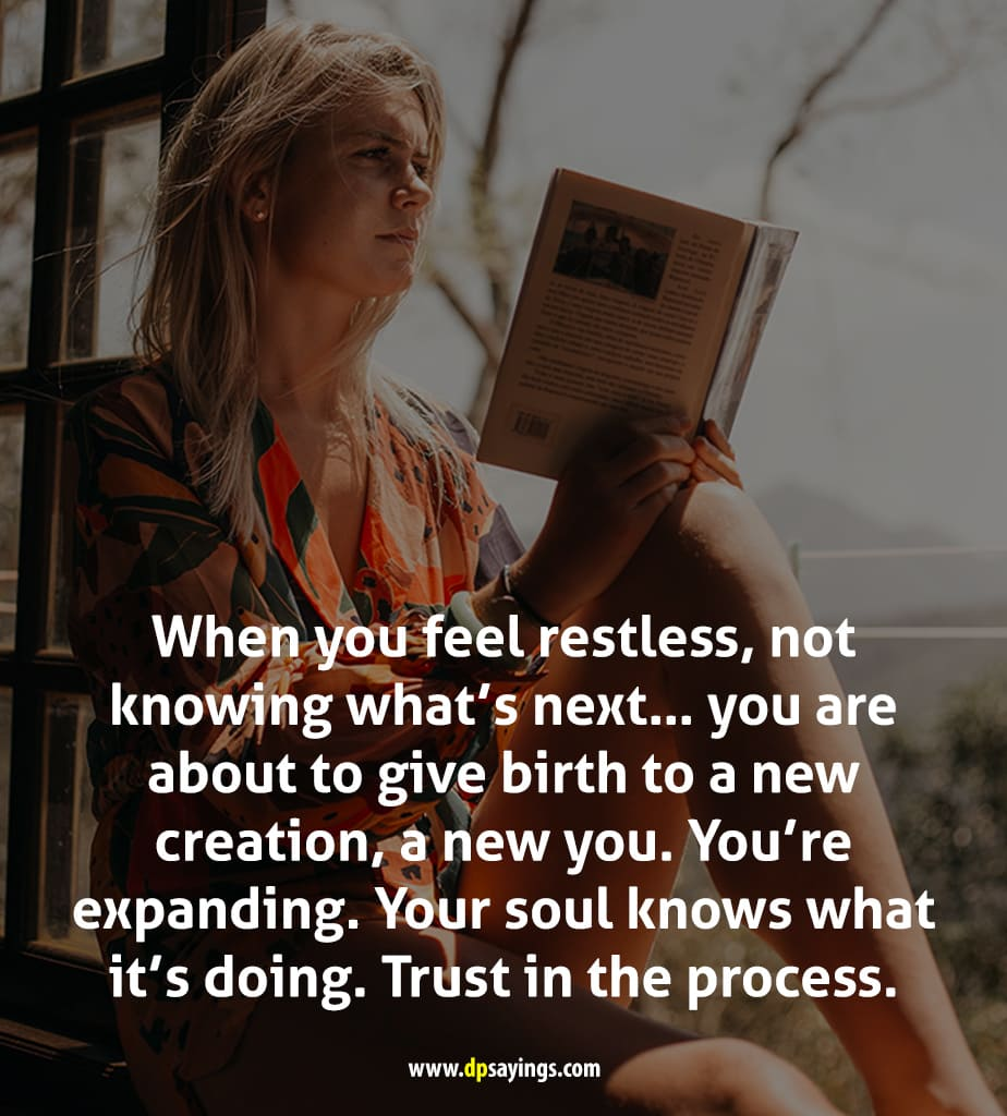 Trust in the process quotes